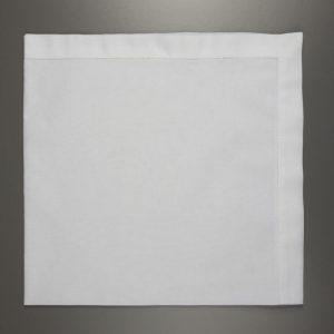 Large White Cotton Handkerchief