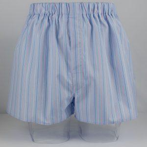 Boxer Shorts (Blue/Pink Stripe) BO1323