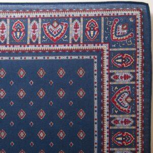 Diamond Bandana / Handkerchief (Navy)