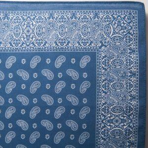 Pine Bandana / Handkerchief (Blue)