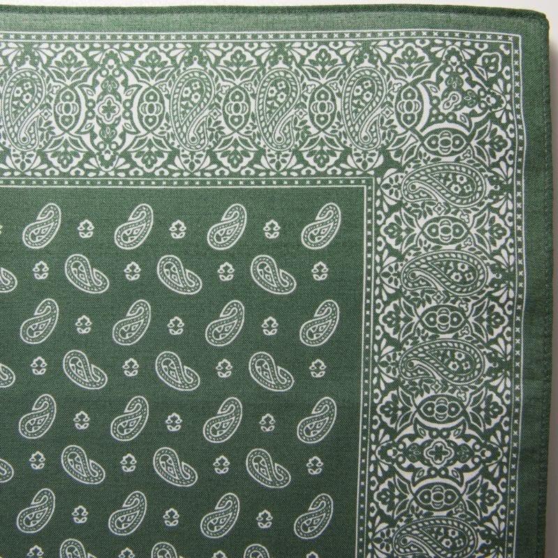 Pine Bandana / Handkerchief (Green)