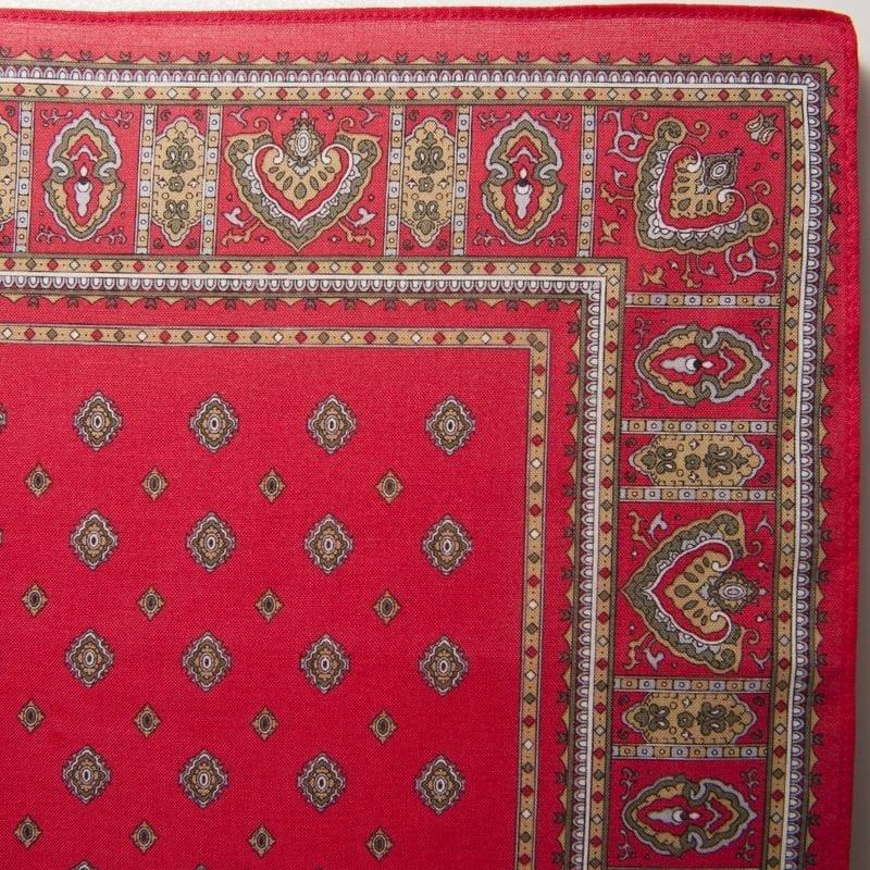 Diamond Bandana / Handkerchief (Red)