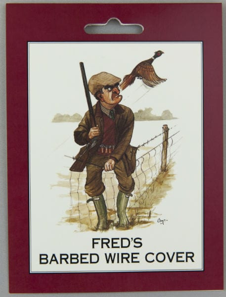 Barbed wire cover