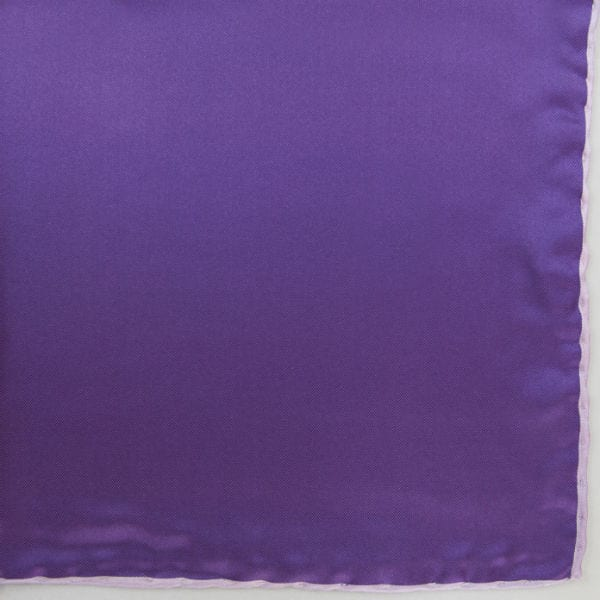 Silk pock square - purple and pink