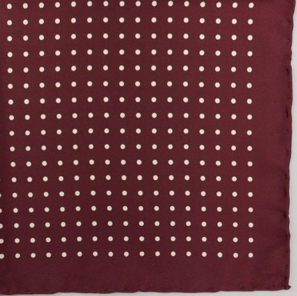 Silk pock square - Spot - wine