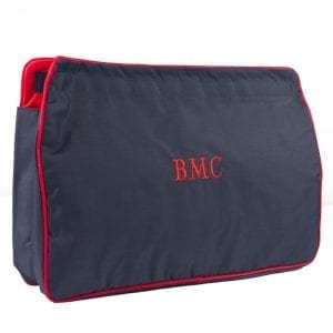 Navy & Red Large Sponge Bag