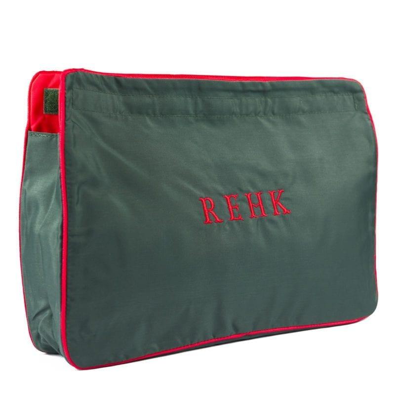 Green & Red Large Sponge Bag