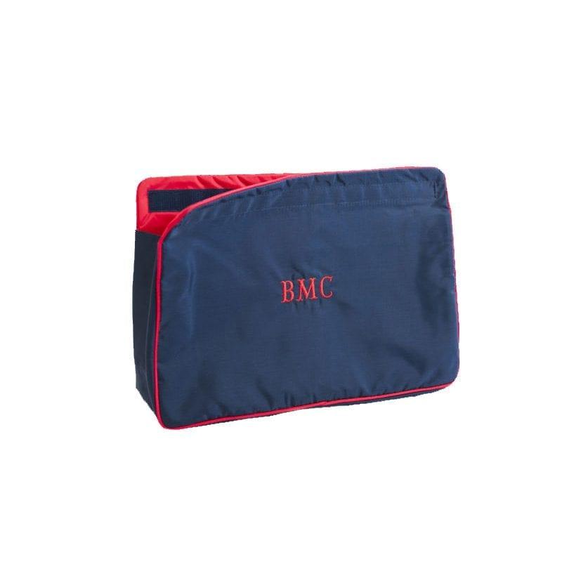 Navy & Red Small Sponge Bag