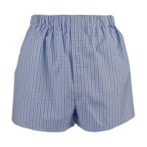 Boxer shorts - navy check