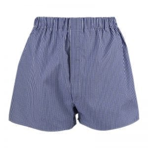 Boxer shorts - Navy check