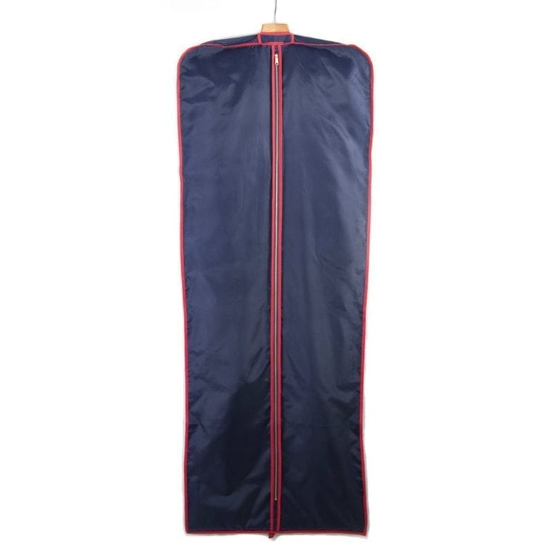 Navy & Red Long Dress Cover