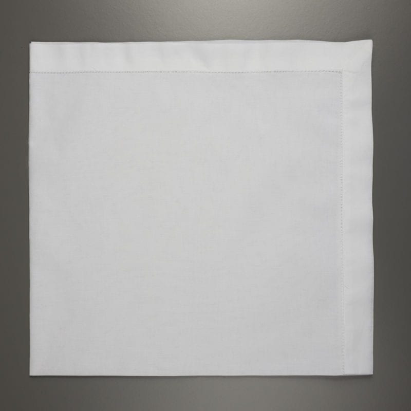 Large White Cotton Handerkerchief