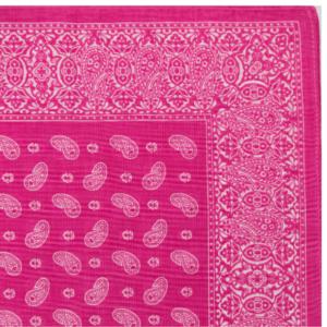 Pine Bandana / Handkerchief (Pink)