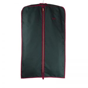 Cuyler and Davy | Monogramming | Suit Green Red Coat Cover 1