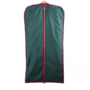 Cuyler and Davy | Monogramming | Green Red Coat Cover