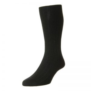 Waddington Luxury Cashmere Sock (Black)