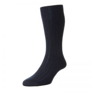 Waddington Luxury Cashmere Sock (Navy)